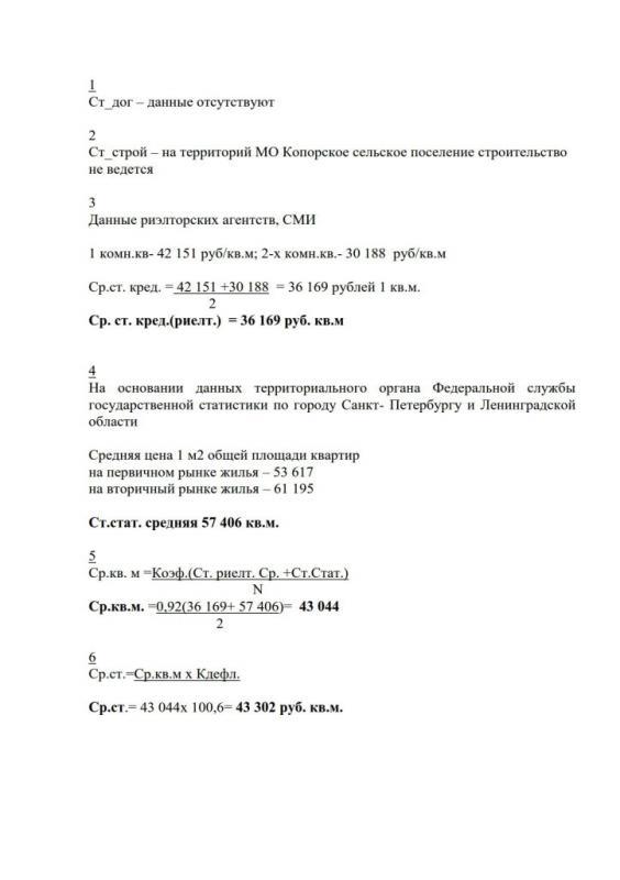 Копия Ср. рыночная стоимость 4 квартал.2015_2